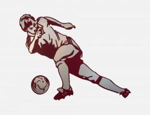 Red Footballer