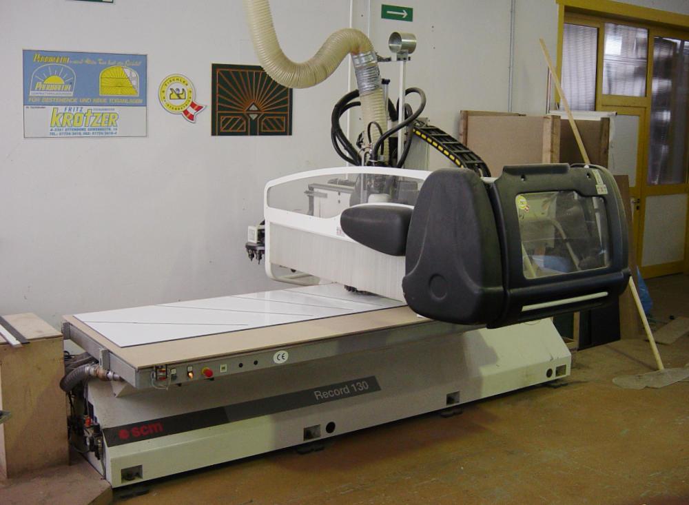 CNC-Vollbearbeitungszentrum 2002